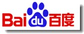 Baidu China zoekmachine logo