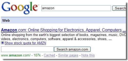 Nieuwste versie Google vertoont extra zoekbox