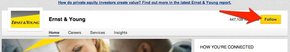 Volg bedrijf in LinkedIn