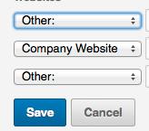 Categorie LinkedIn