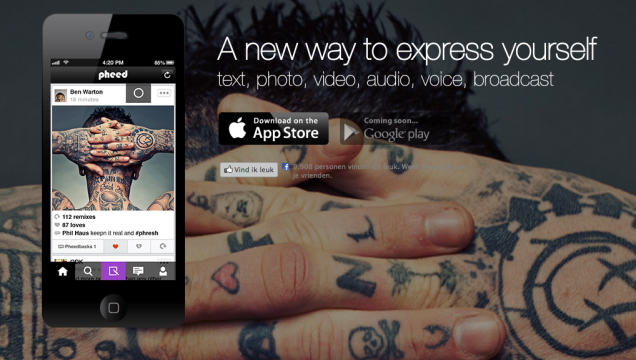Pheed, het nieuwste multimedia social netwerk