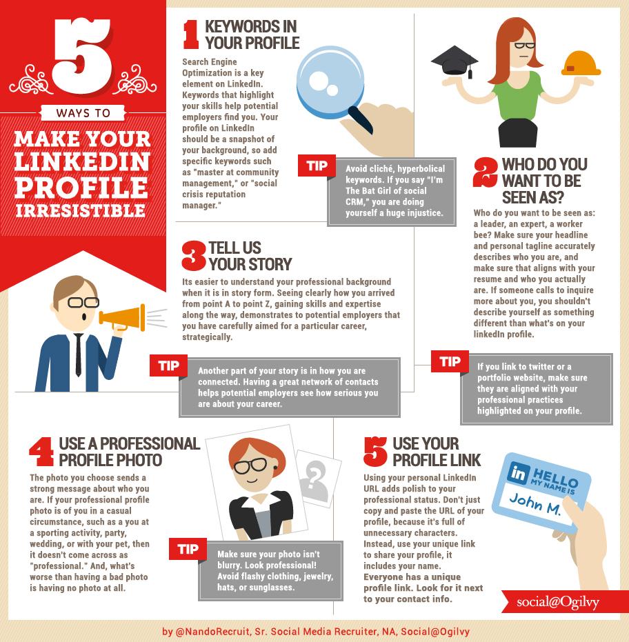 5 tips om je linkedin profiel te optimaliseren