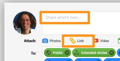 Google+ linkbuilding