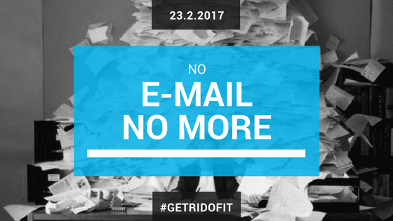 no more e-mail